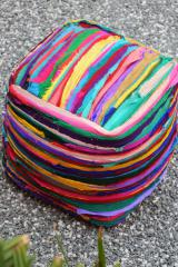 bali-recycled-pouf-online